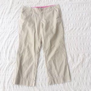 Lilly Pulitzer Palm Beach Fit Khaki Pants Size 4